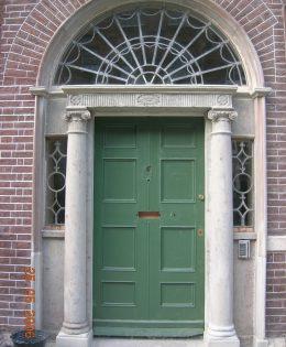 Georgian Door Surround Repair at Henrietta Street